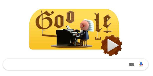 Pierwsze takie Google Doodle w historii. Można skomponować utwór muzyczny