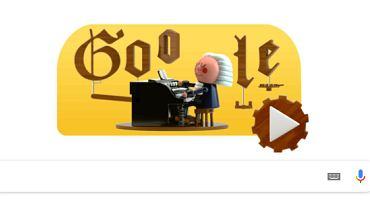 Google Doodle upamiętnia Jana Sebastiana Bacha. Wyjątkowa technologia