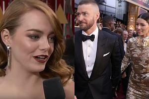 Emma Stone, Justin Timberlake, Jessica Biel