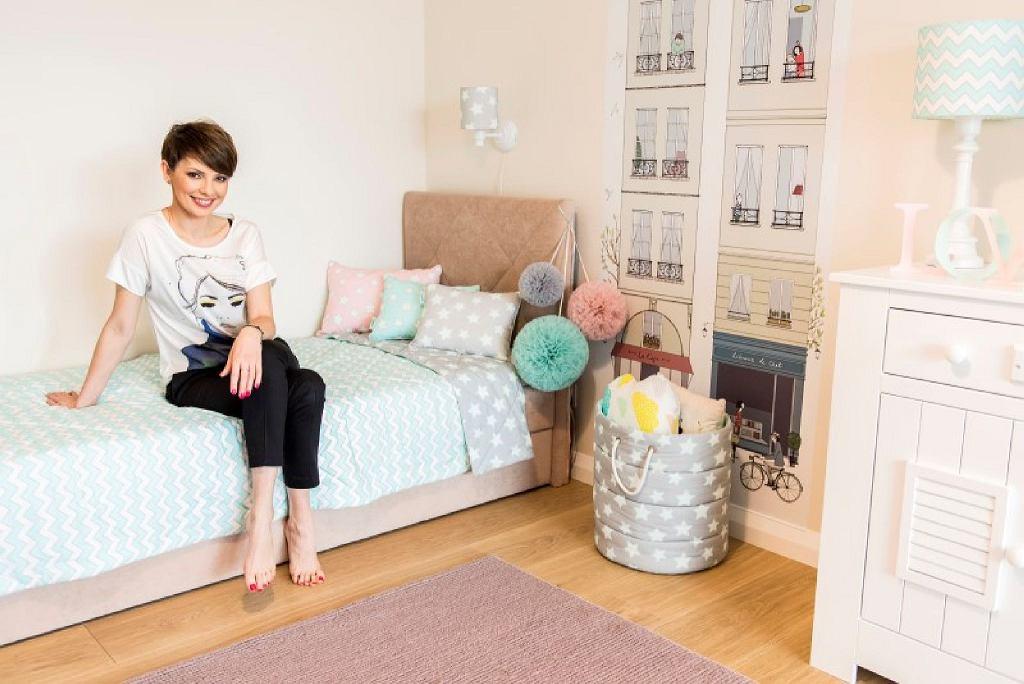 Dorota Gardias w pokoju swojej córki Hani.