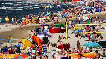 Polskie plaże - Międzyzdroje [Zdjęcie ilustracyjne]