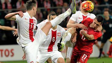 W listopadzie ubiegłego roku na wrocławskim obiekcie odbył się towarzyski mecz Polska - Czechy