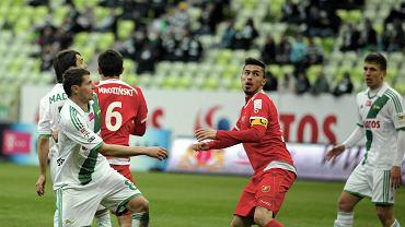 Lechia Gdańsk - Widzew Łódź 2:0. Krystian Nowak (19 lat)