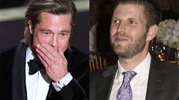 Brad Pitt Eric Trump