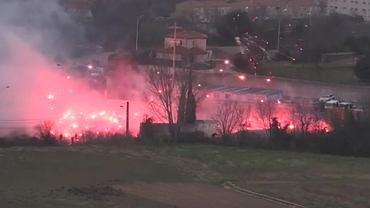 Atak na ośrodek treningowy Olympique Marsylia