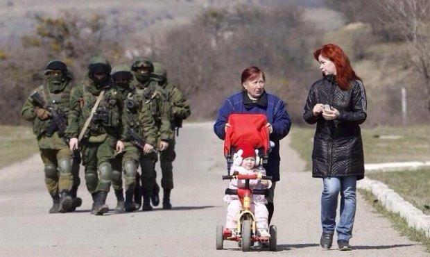Krym na dzień przed referendum