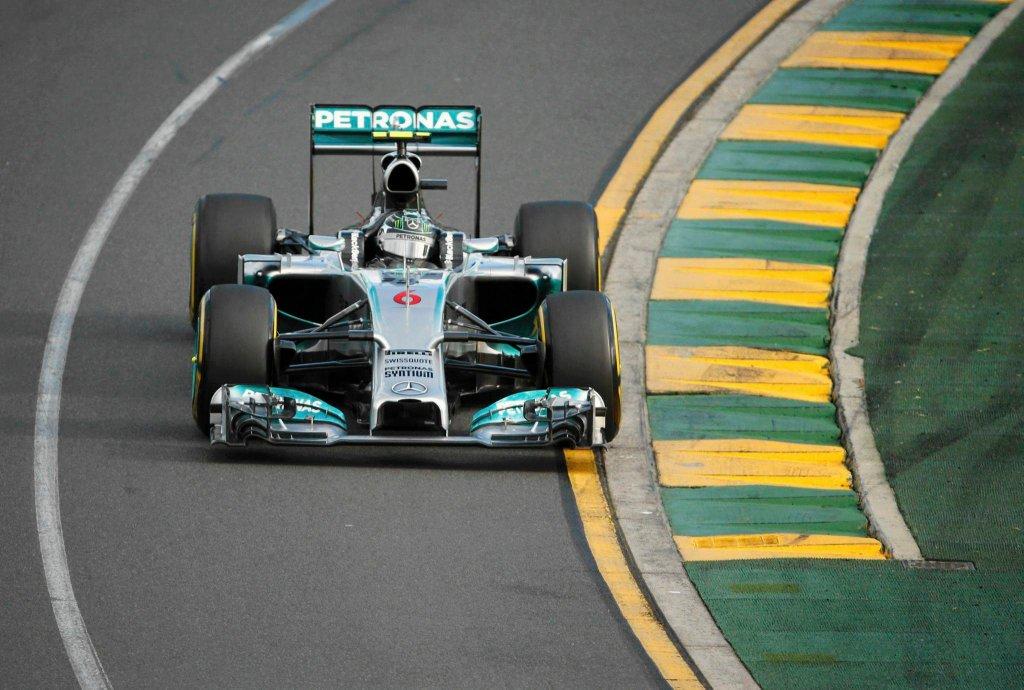 GP Australii 2014. Nico Rosberg