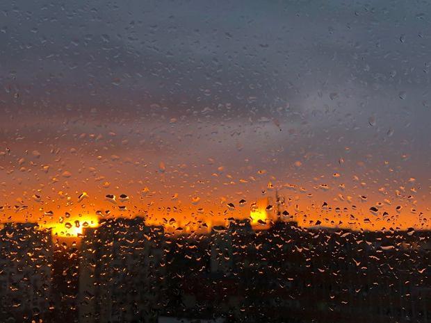 'Płonący horyzont' na Grochowie