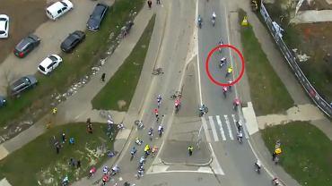 Wypadek podczas wyścigu Etoile de Besseges - Tour du Gard