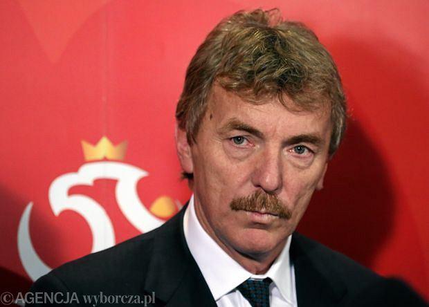 Zbigniew Boniek - prezes Polskiego Związku Piłki Nożnej