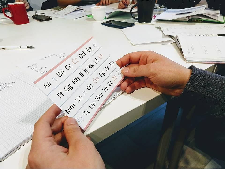 W Bielsku-Białej obcokrajowcy za darmo uczą się języka polskiego
