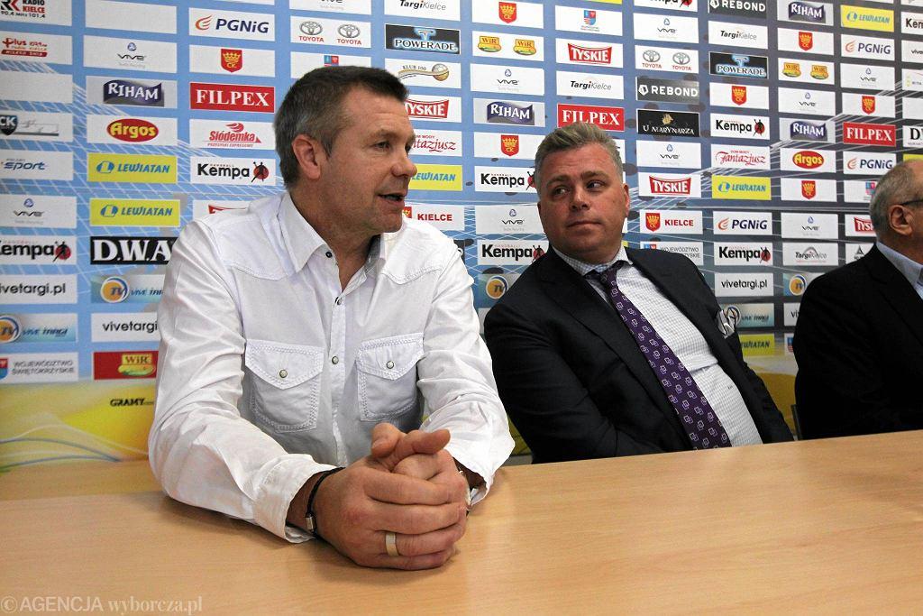 Bogdan Wenta i Bertus Servaas