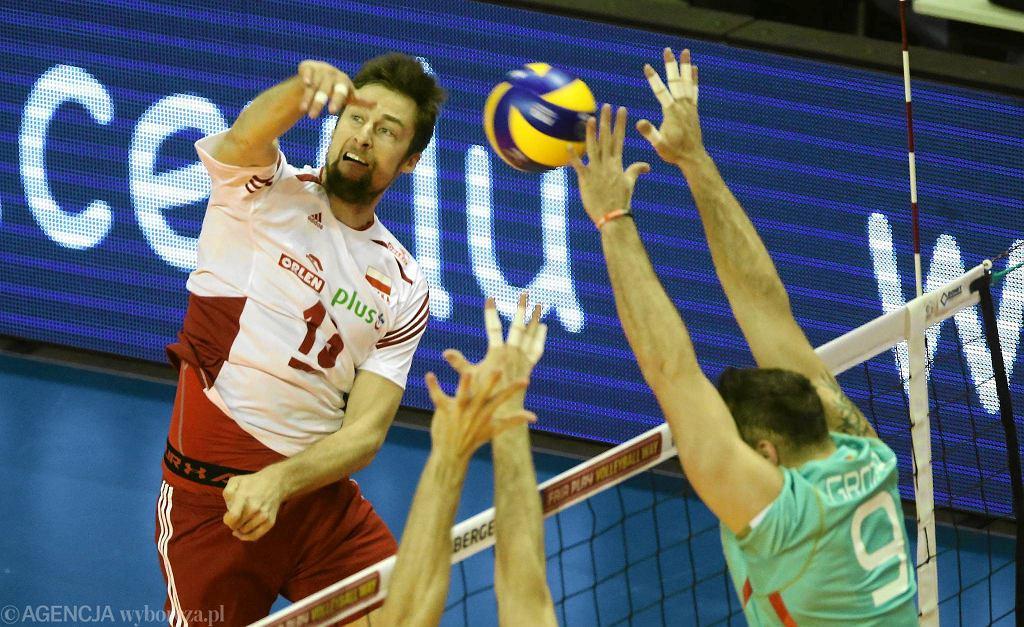 Polska - Niemcy 2;3. Michał Kubiak