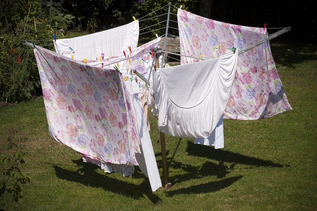 Suszarka na pranie ogrodowa