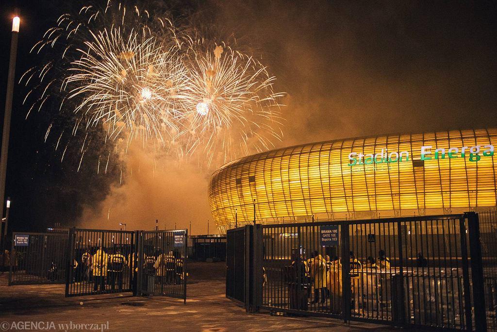 Pokazy fajerwerków w Gdańsku