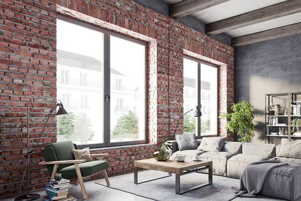 Okna w nowoczesnym domu
