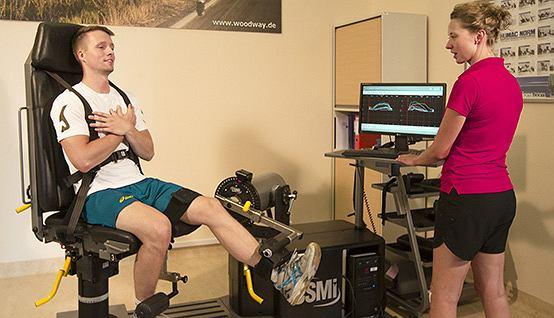 Takie badania pozwalają też kontrolować postępy w rehabilitacji
