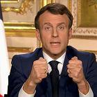 Sposób Macrona na koronawirusa: Francuzi w areszcie domowym
