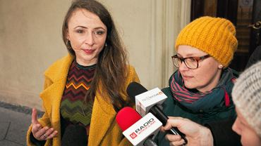 Posłanka Agnieszka Dziemianowicz-Bąk i Alina Szeptycka