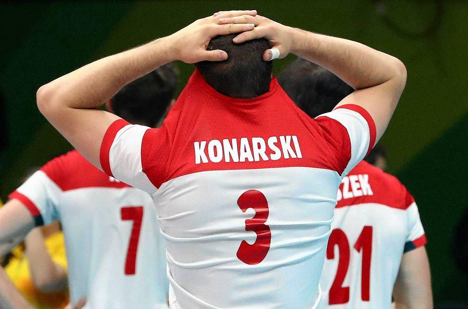 Zdjęcie numer 0 w galerii - Rio 2016. USA - Polska 0:3. Polscy siatkarze załamani po porażce