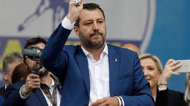 Wicepremier Włoch Matteo Salvini.