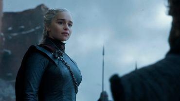 Emilia Clarke w finale serialu Gra o tron