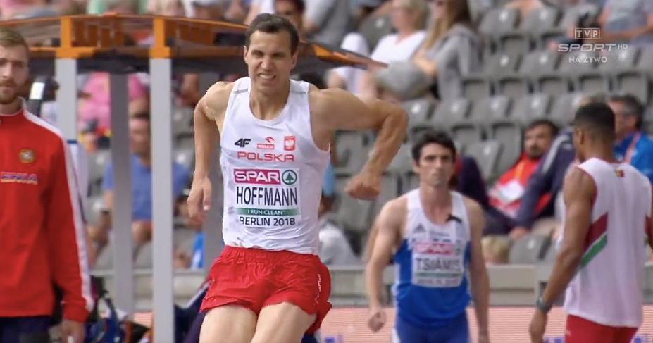 Karol Hoffman doznał kontuzji podczas lekkoatletycznych mistrzostw Europy