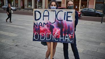 Strajk klimatyczny w Łodzi