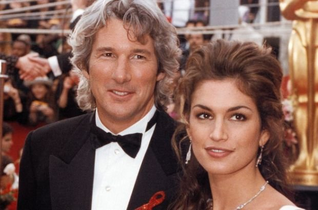Richard Gere i Cindy Crawford