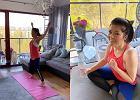 Katarzyna Cichopek wykorzystuje czas w domu na treningi: Nie odpuszczam, cisnę!