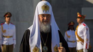 Cyryl, patriarcha Cerkwii, na Kubie