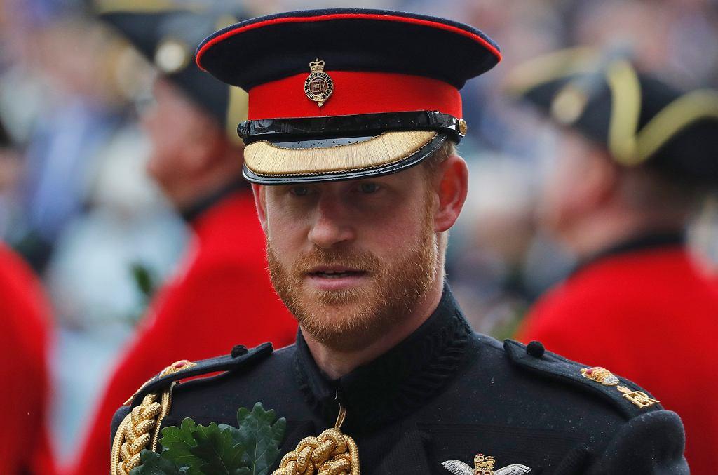 Książę Harry spotkał się z weteranami wojennymi. W ...