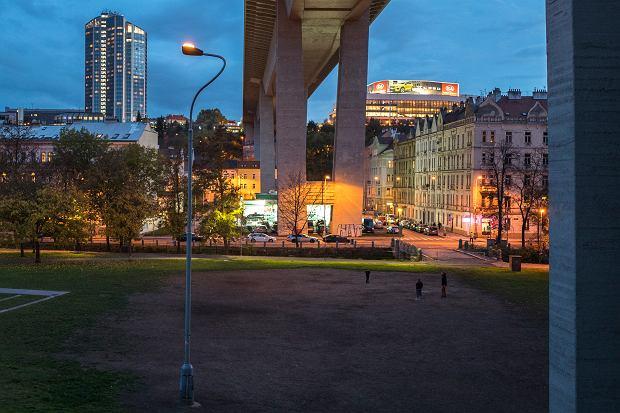 Latarnia samobójców w Pradze (fot. Filip Springer)
