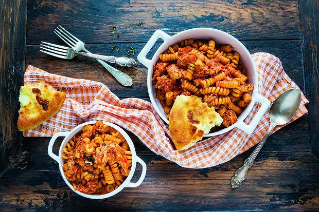 Makaron Z Kurczakiem I Pomidorami Wszystko O Gotowaniu W