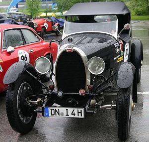 Bugatti: boskie automobile, logo z klasą, samochody, Bugatti Typ 40