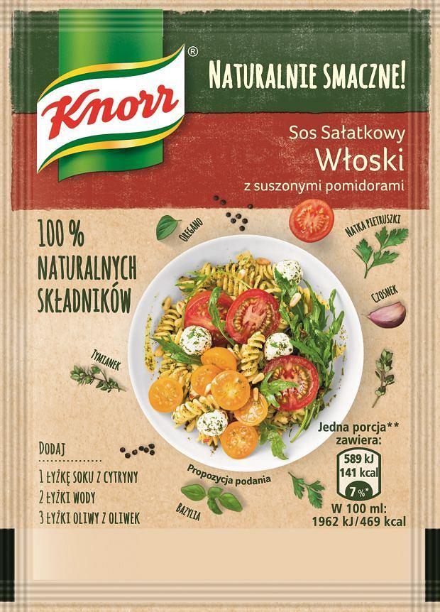Sos sałatkowy Włoski Naturalnie Smaczne Knorr