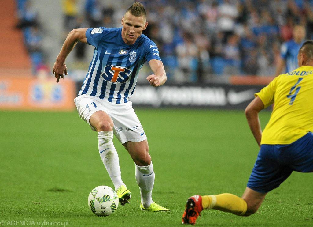 Lech Poznań - Arka Gdynia 0:0. Marcin Robak