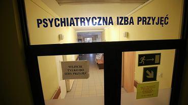 Psychiatryczna izba przyjęć (zdjęcie ilustracyjne)