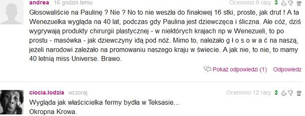 Komentarz z Plotek.pl