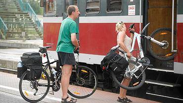 Przewóz rowerów pociągiem
