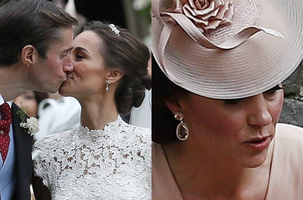 Księżna Kate na śulbie Pippy Middleton