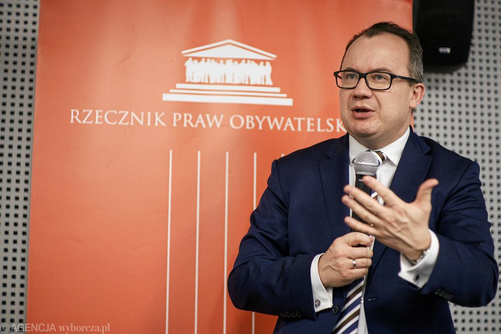 Adam Bodnar, rzecznik praw obywatelskich.
