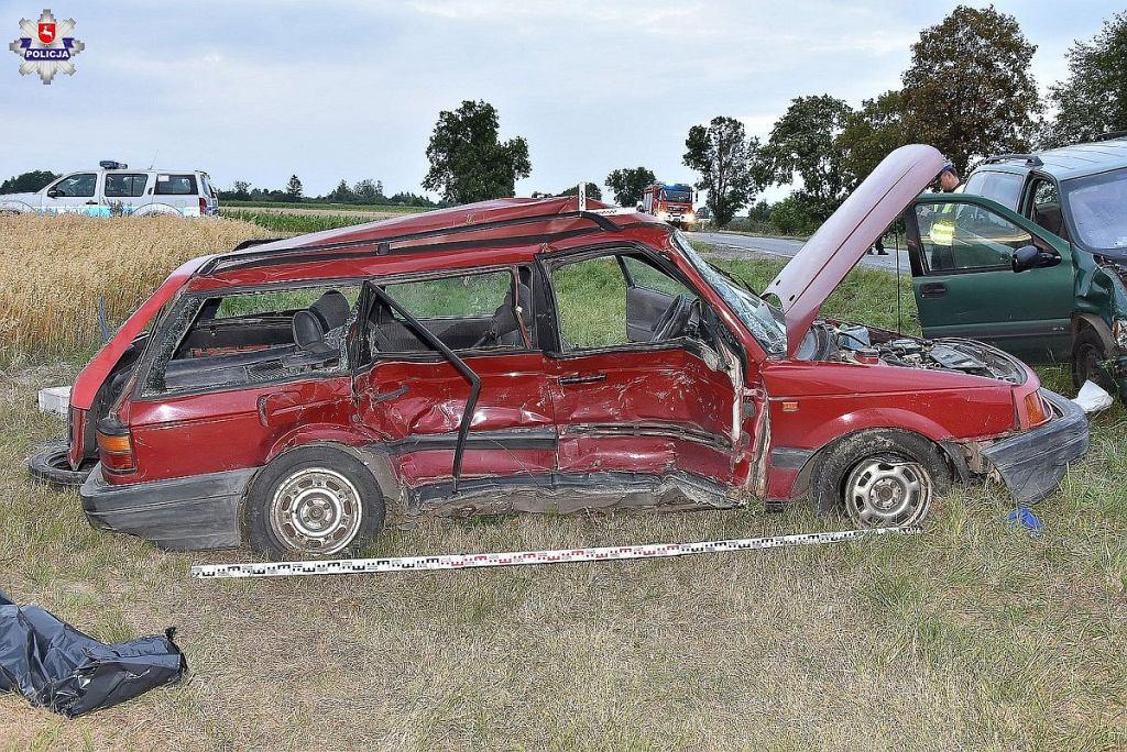 Wypadek w miejscowości Horodyszcze. Nie żyje 14-letnia dziewczyna