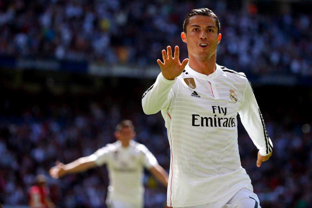 Real Madryt - Granada 9:1. Cristiano Ronaldo