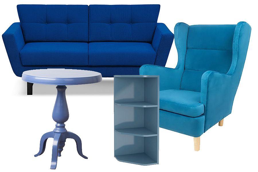 Niebieskie meble - odważnie i stylowo