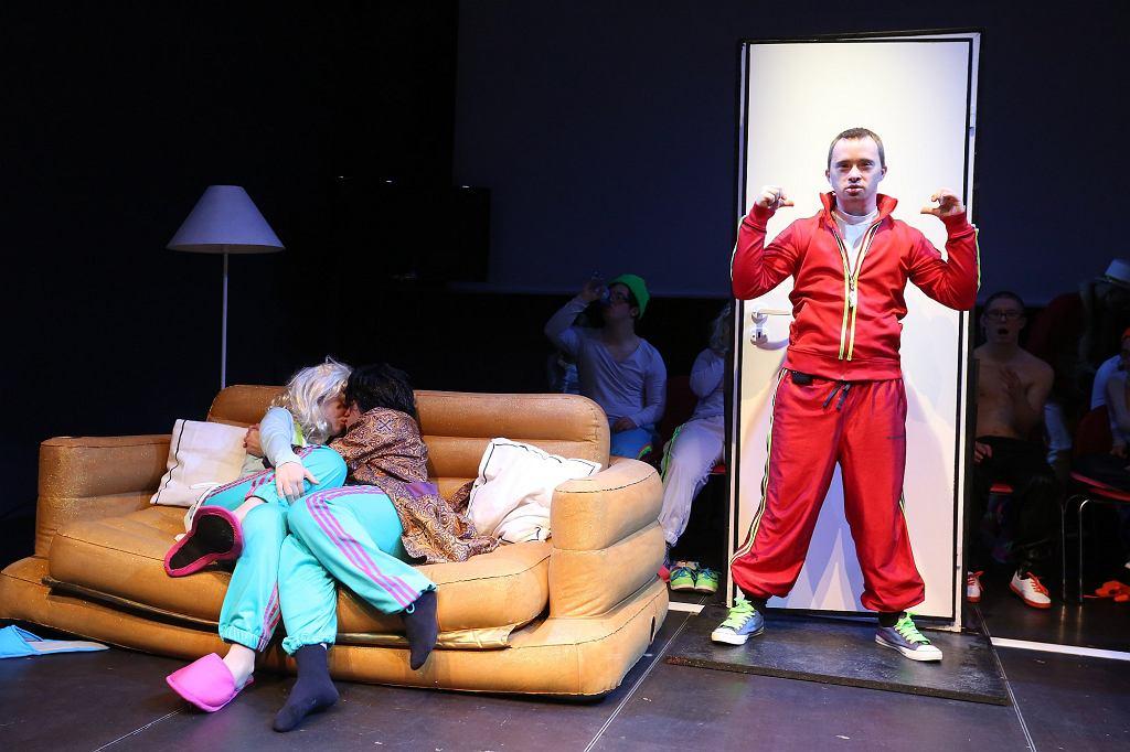 Teatr 21 w spektaklu pt.: