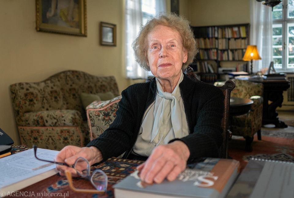 Prof. Ewa Chojecka, historyczka sztuki