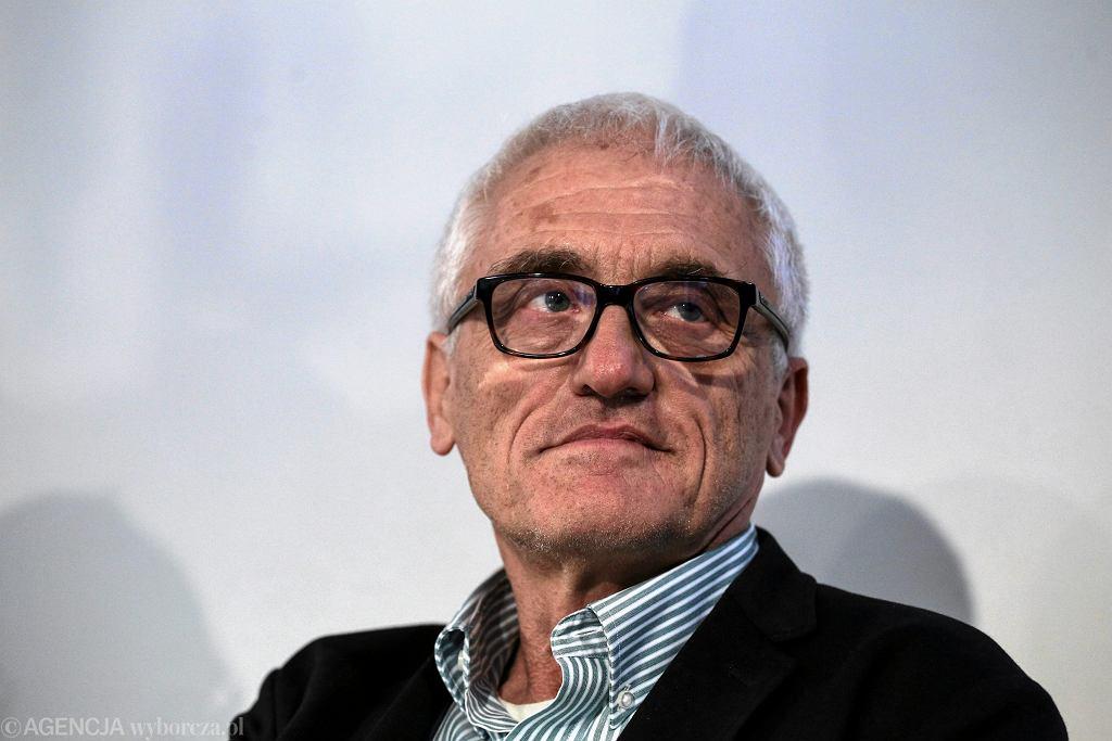Prof. Jan Gross podczas debaty 'Komu wolno żyć w Polsce'. Warszawa, 21 września 2015