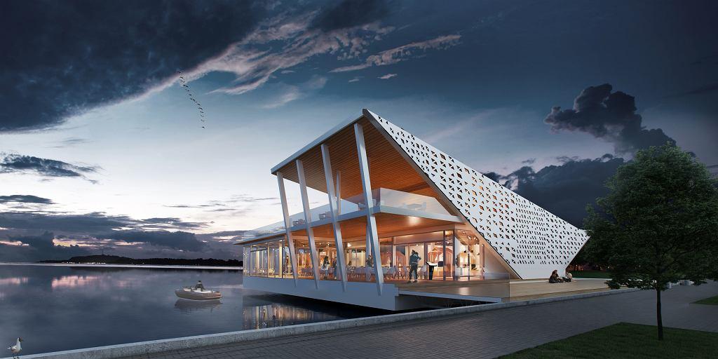 Koncepcja restauracji kompleksu Wodny Świat Roberta Lewandowskiego