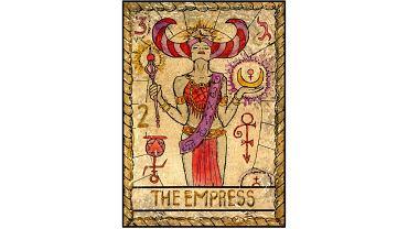 Karta tarota - 3 cesarzowa